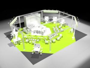 smartLAB showroom at Labvolution / Biotechnica Hannover