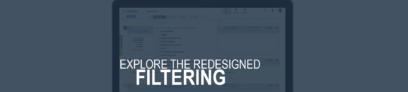 explore the redesigned search and filter tool