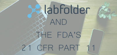 labfolder and fda 21 cfr part 11