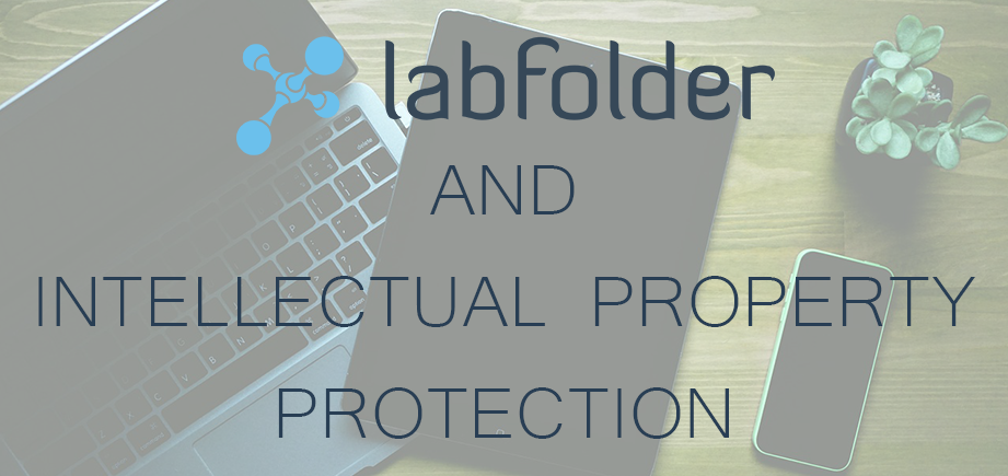 labfolder and intellectual property protection