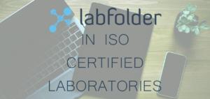 Labfolder in iso certified laboratories