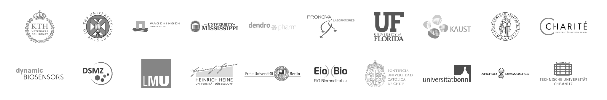 Organisations we are trusted by