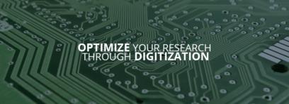 Optimize your research through digitzation