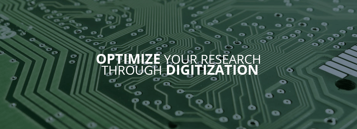 Optimize your research through digitzation