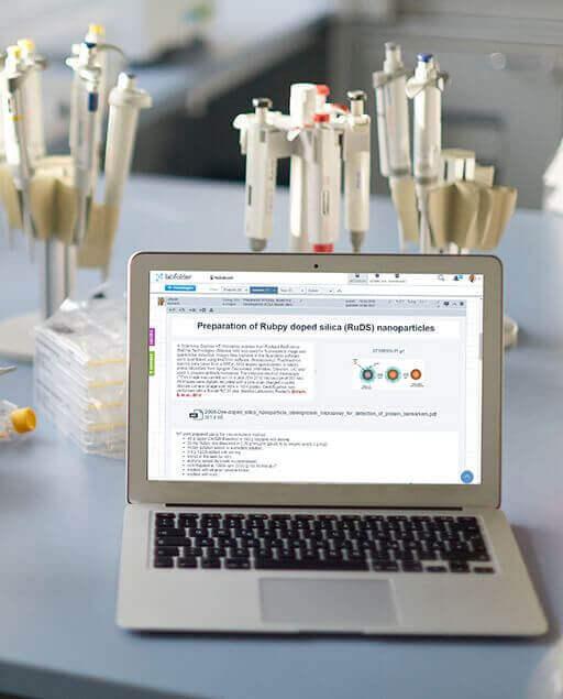 labfolder elektronisches Laborbuch