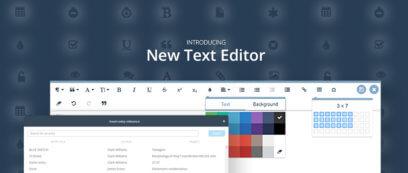 New Text Editor Blog Header