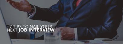 Nail your next Job Interview