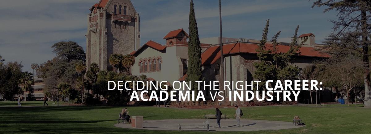 Academia vs Industry