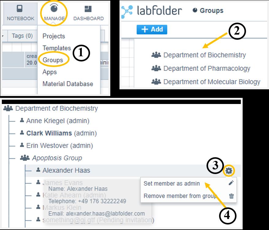 Helpdesk-Nominate subgroup admins
