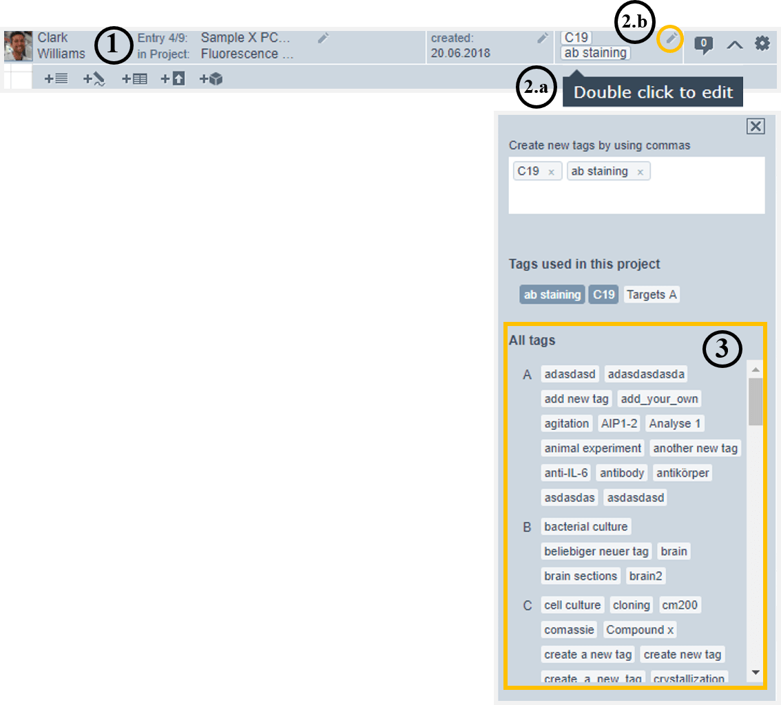 Helpdesk-View used tags