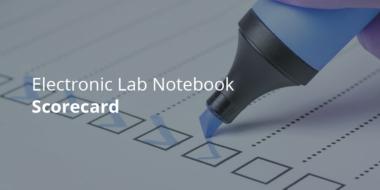 electronic lab notebook scorecard