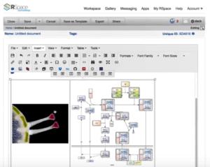 rspace screenshot