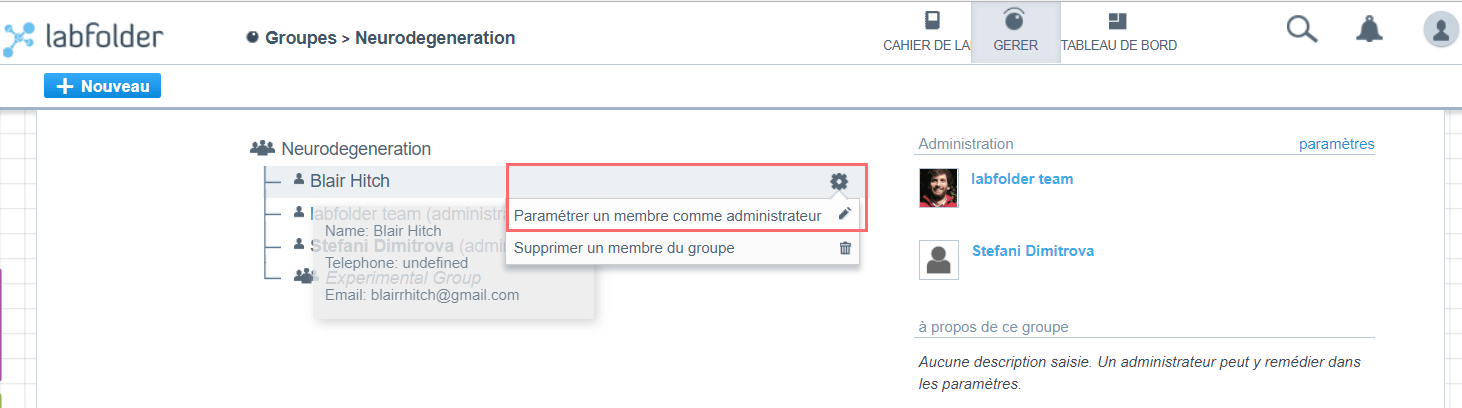 Make members admins of subgroups